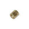 2x2mm Gold Plated Seamless Crimp Tube (10-Pcs)