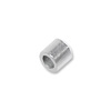 1x1mm Sterling Silver Seamless Crimp Tube Beads (10-Pcs)