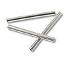 Liquid Silver Tube 8x1mm Sterling Silver (20-Pcs)