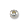 Round Bead 2mm Seamless Sterling Silver Filled (10-Pcs)