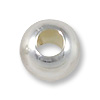 Round Bead 5mm Seamless Sterling Silver Filled (4-Pcs)
