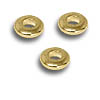 Seamless Spacer Ring 3.7x1mm Gold Plated (10-Pcs)