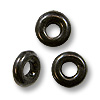 Seamless Spacer Bead 3.7x1mm Hematite Plated (10-Pcs)