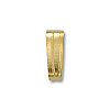 Bail - Snap On 2x5.3mm Gold Plated (10-Pcs)
