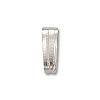 Bail - Snap On 2x5.3mm Silver Color (10-Pcs)