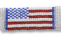 Flag Bracelet Red/White/Blue