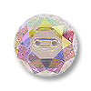 Swarovski Button 3014 16mm Crystal AB (1-Pc)