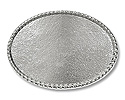 Belt Buckle Blank Oval Rope 4