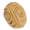 Terra Cotta Bead 18x22mm Drum (3-Pcs)