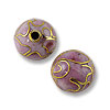 Handmade Cloisonne Bead 8mm Round Pink (1-Pc)