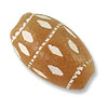 Terra Cotta Bead 16x10mm Oval (6-Pcs)