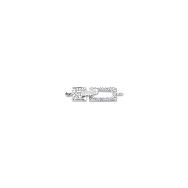 Locking Clasp Foldover Locking Clasp Sterling Silver