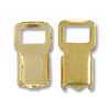 Connector - Fold Over 5x11mm Gold Color (10-Pcs)