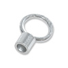 6mm Sterling Silver Crimp Tube Cord End (1-Pc)