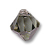 Swarovski Crystal Bicone Pendant 6301 8mm Black Diamond (1-Pc)