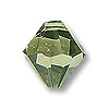 Swarovski Crystal Bicone Pendant 6301 8mm Jonquil Satin (1-Pc)
