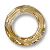 Swarovski Cosmic Ring 4139 30mm Crystal Golden Shadow w/out Foil (1-Pc)