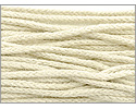 Organic Cotton Braided Cording 1mm 3 Yards Ivory