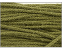 Organic Cotton Braided Cording 1mm 3 Yards Olive