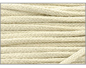 Organic Cotton Braided Cording 2mm 2 Yards Ivory