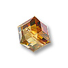 Swarovski Cube Beads 5601 4mm Crystal Copper (1-Pc)