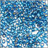 Miyuki Delica Seed Bead 11/0 Silver Lined Dark Turquoise (3 Gram Tube)