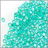 Miyuki Delica Seed Bead 11/0 Silver Lined Spearmint (3 Gram Tube)
