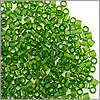 Miyuki Delica Seed Bead 11/0 Transparent Olive Green (3 Gram Tube)