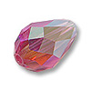 Swarovski Tear Drop Beads 5500 9x6mm Rose AB (1-Pc)