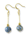 Earring Kit - Cloisonne Light Blue
