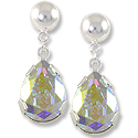 Earring Kit - Teardrop Crystal AB