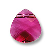 Swarovski Flat Briolette 6012 11x10mm Ruby (1-Pc)