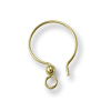 TierraCast Gold Filled Fish Hook Ear Wire w/ 2mm Bead (1-Pc)