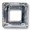 Swarovski Square Ring 4439 20mm Crystal with Foil (1-Pc)
