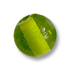 Glass Round Bead 6mm Peridot (100-Pcs)