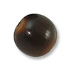 Horn Beads Round Brown 13mm (3-Pcs)