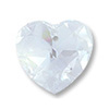 Swarovski Heart Pendant 6202 18mm Crystal Moonlight (1-Pc)