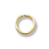 4mm Gold Filled Round Closed Jump Ring (2-Pcs)