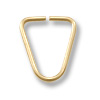 Triangle Jump Ring 8x5mm Open Gold Filled (1-Pc)