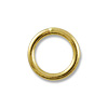 7mm Gold Filled Round Closed Jump Ring (1-Pc)