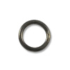 5.6mm Gun Metal Plated Round Closed Jump Ring (10-Pcs)