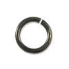 6mm Gun Metal Round Open Jump Ring (100-Pcs)