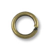 Jump Ring - Open 5mm Antique Brass Plated (100-Pcs)