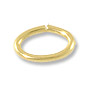 5.5x3.6mm Gold Filled Oval Open Jump Ring (4-Pcs)