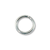 4mm Sterling Silver Filled Round Open Jump Ring (10-Pcs)