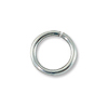 5mm Sterling Silver Filled Round Open Jump Ring (10-Pcs)