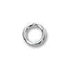 4mm Sterling Silver Round Open Jump Ring (4-Pcs)