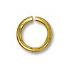 6mm Gold Filled Round Open Jump Ring (2-Pcs)