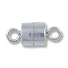 Magnetic Clasp 10x4.3mm Sterling Silver (1-Pc)