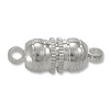 Magnetic Clasp 17x6mm Silver Plated (1-Pc)